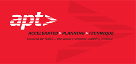 Branding: Accelerated Planning Technique positioning strategy, tagline development, logo design