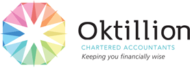 Branding: Oktillion positioning strategy, name development, tagline development, logo design