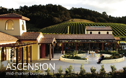 Evolve Marketing Agency client work - Ascension Wine Estate