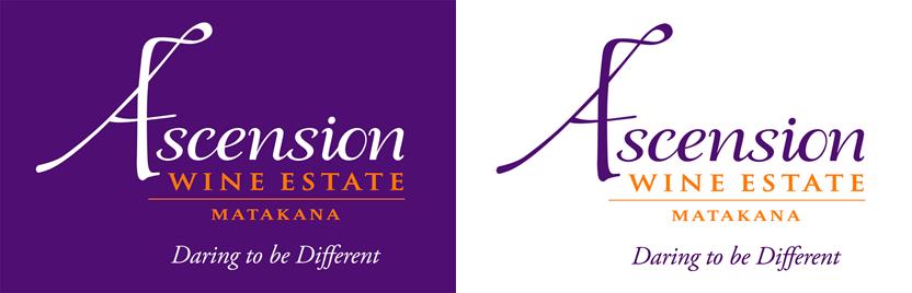 Ascension logo designed by Evolve