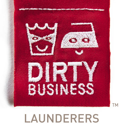 Evolve Marketing Agency client example - Dirty Business logo