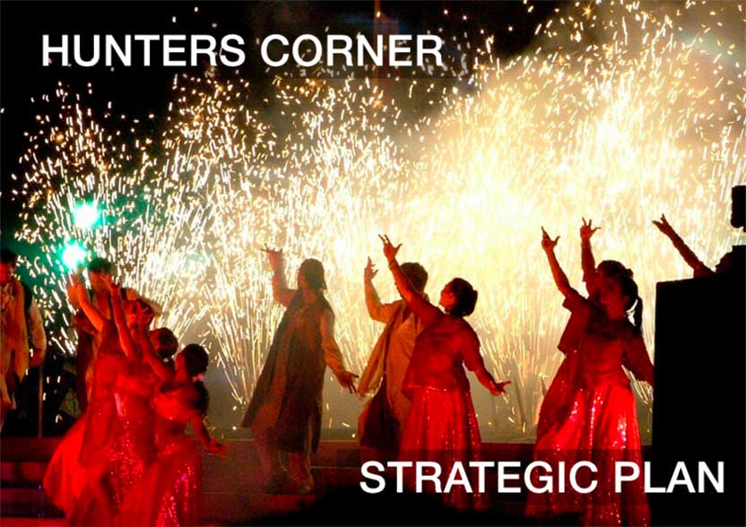 Evolve Marketing Agency client example - Hunters Corner Business Association strategic plan