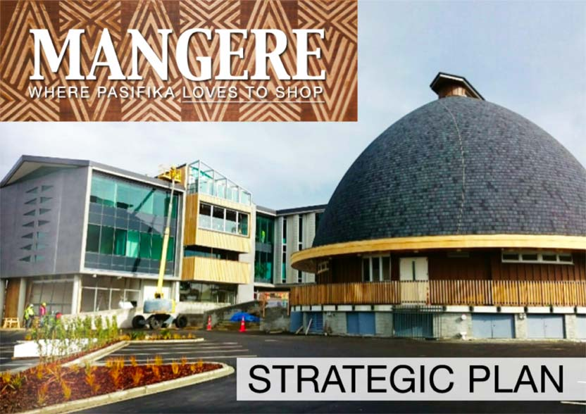Evolve Marketing Agency client example - Mangere Town Centre Business Association strategic plan