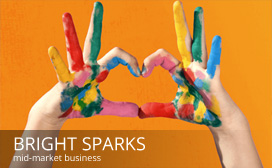 Evolve Marketing Agency client work - Bright Sparks Childcare