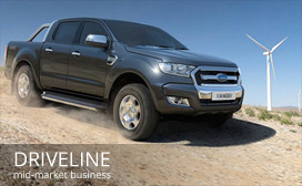 Evolve Marketing Agency client work - Driveline Fleet