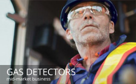 Evolve Marketing Agency client work - Gas Detectors division of Entec