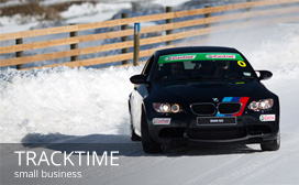 Evolve Marketing Agency client work - Tracktime Driving Academy